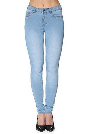 Pieces Dames skinny broek Pcjust Jute W. R.m.w.leg. Jamilla Noos