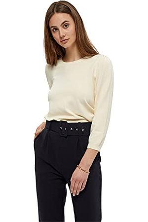 Peppercorn Dames Tana Puffsleeve Pullover Sweater, Zaadparel Cream, XS