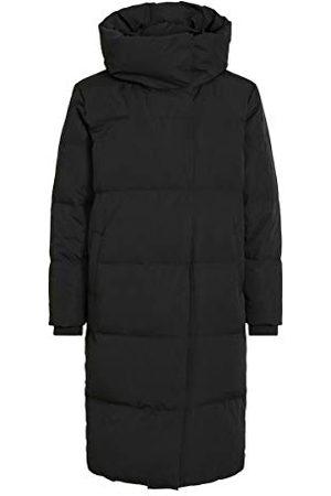 Object Vrouwelijke jas lang donsdoorgestikt, , XL