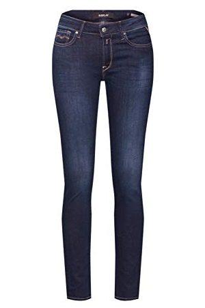 Replay Dames Luz High Waist Jeans, donkerblauw 502-7, 24W x 32L