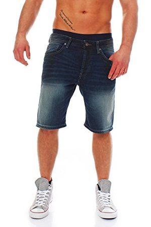 Only & Sons Heren Straight Leg Shorts Onsavi Pas0018a Noos, (Dark Blue Denim), 32W