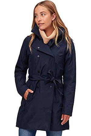 Helly Hansen Dames Welsey II Trench geïsoleerde jas, Navy, L