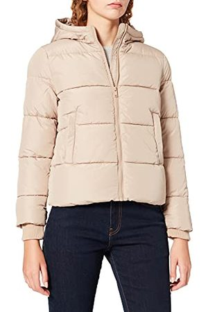 Pieces Dames Pcbee New Short Puffer Jacket Bc Jacket, silver mink, L