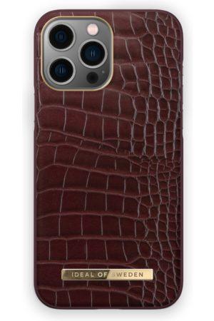 IDEAL OF SWEDEN Telefoon - Atelier Case iPhone 13 Pro Max Scarlet Croco