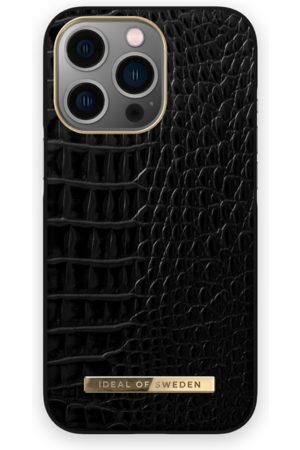 IDEAL OF SWEDEN Telefoon - Atelier Case iPhone 13 Pro Neo Noir Croco