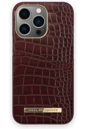 IDEAL OF SWEDEN Telefoon - Atelier Case iPhone 13 Pro Scarlet Croco