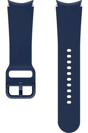 Samsung Sport Band S/M voor de Galaxy Watch / Watch 3 / Watch 4 / Active 2 / Classic 4 : 40-41-42-44mm - Blauw