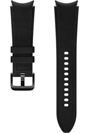 Samsung Hybrid Leather Band M/L voor de Galaxy Watch / Watch 3 / Watch 4 / Active 2 / Classic 4 : 40-41-42-44mm