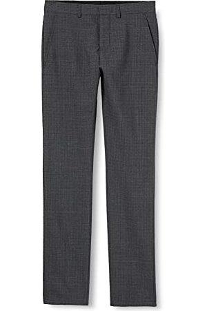 SELECTED Heren Slhslim-vincecal Grey Check Trs B Noos pak broek