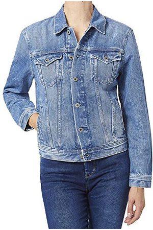Pepe Jeans Dames Rose Jacket Denim Jas, 000denim, M