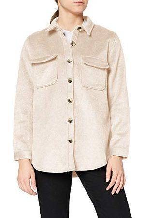 Object Vrouwelijke jas oversized wolmix vezel, Incense 2, 34
