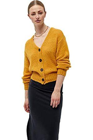 DESIRES Dames Erina Cardigan Sweater, Narcissus Yellow, S