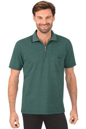 Trigema Poloshirt met rits