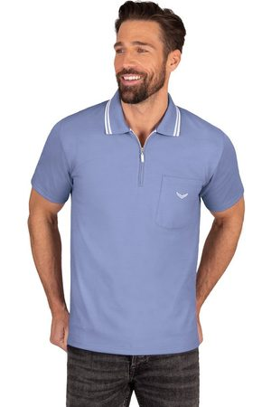 Trigema Poloshirt met een ritssluiting