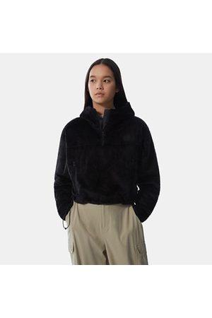 The North Face The North Face Osito-hoodie Met Korte Pasvorm Voor Dames Tnf Black Größe L Dame