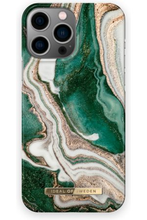 IDEAL OF SWEDEN Telefoon - Fashion Case iPhone 13 Pro Max Golden Jade Marble