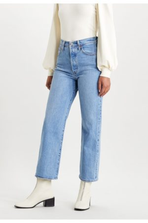Levi's Dames Straight - Ribcage Straight Jeans