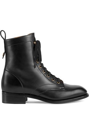 Gucci Men's lace-up ankle boot