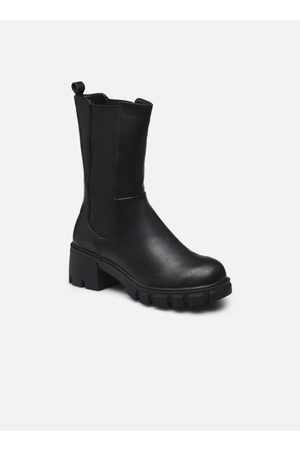Bianco Dames Enkellaarzen - BIADARCELLA Elastic Boot by