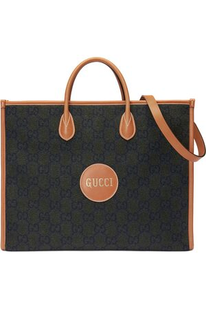 Gucci Heren Shoppers - Tote bag with Script logo