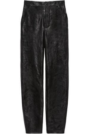 Gucci Dames Leren broeken - Shiny leather pant