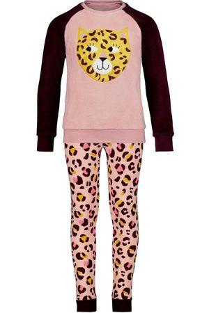 HEMA Meisjes Badjassen - Kinderpyjama Cheetah