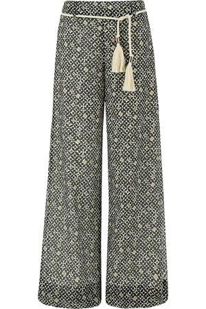 MARELLA Patterned val pantalon