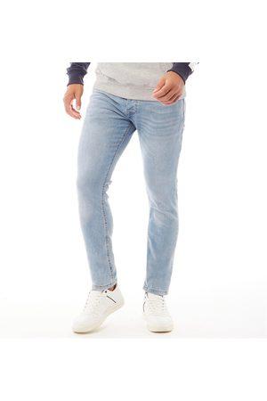 Crosshatch Heren Buraca Slim Jeans Gewassen