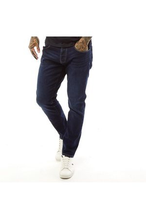 Police Heren Turalt 407 Loose Fit Jeans Donkerblauw
