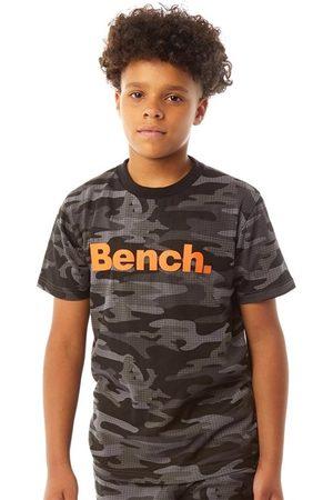Bench Jongens Raynor Camo T-Shirt Zwart Camouflage