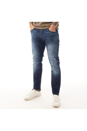 Duck and Cover Heren Maylead Slim Jeans Donker Wash