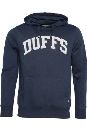 Duffs Heren Hoodies Marineblauw