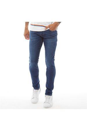 Crosshatch Heren Buraca Slim Jeans Denim