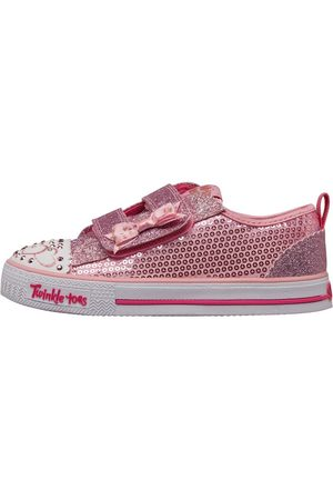 Skechers Peuter Twinkle Toes Shuffles Itsy Bitsy Sequin Low Sneakers