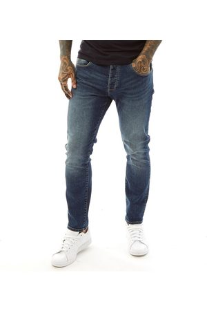 Police Heren Turalt 224 Loose Fit Jeans Donkerblauw