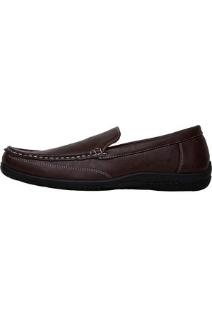 Mad Wax Heren Driving Moccasins Donkerbruin