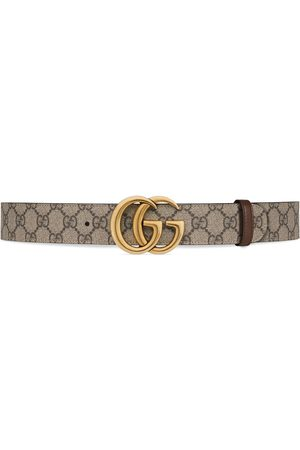 Gucci Riemen - GG Marmont reversible belt