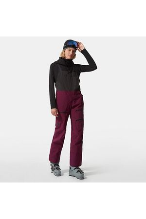 The North Face Dames Joggingbroeken - The North Face Brigandine Futurelight™-salopette Voor Dames Pamplona Purple/tnf Black Größe L Normaal Dame