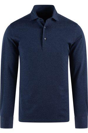 410 Heren Lange mouw - SOCI3TY Longsleeve Polo Heren Cotton