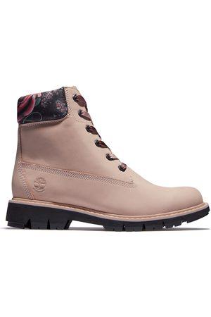 Timberland Dames Veterlaarzen - Lucia Way 6 Inch Boot Voor Dames In Lichtroze/gebloemd Lichtroze, Grootte 36