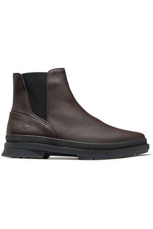 Timberland Heren Enkellaarzen - Cc Boulevard Chelsea Boot Voor Heren In Donkerbruin Donkerbruin, Grootte 40