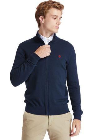 Timberland Heren Sweaters - Williams River Full-zip Sweater Voor Heren In Marineblauw Marineblauw, Grootte 3XL