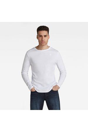G-Star Heren Lange mouw - Basic Round Neck Long Sleeve T-Shirt
