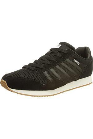 K-Swiss Granada sneakers voor heren, Black White Gum, 43 EU