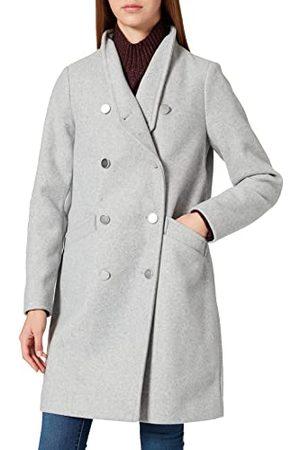 ONLY Dames Onlmaddie Highneck Coat OTW mantel, lichtgrijs gem., XL