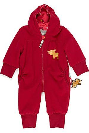 sigikid Baby - meisjes fleece overall met capuchon kledingset
