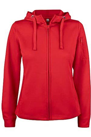 CLIQUE Dames Basic Active Hoody Lady Full Zip Hooded Sweatshirt, , XXL