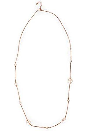 Folli Follie 3n14t003rwc halsketting voor dames, 60 cm