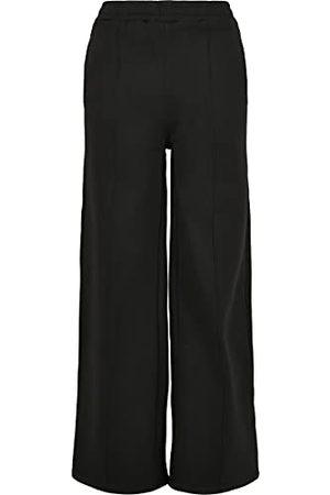Urban classics Dames Dames Dames Straight Pin Tuck Sweat Pants Trainingsbroek, , 5XL