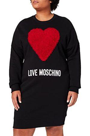 Moschino Love Casual damesjurk, C74+Cuore Rosso, 42